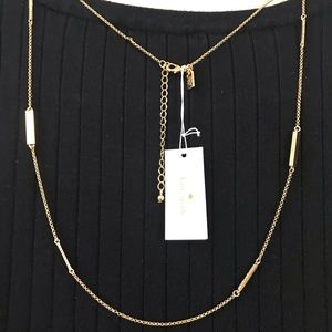 "Kate Spade Necklace 37"" long"